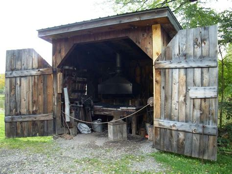 Backyard Blacksmith Shop Plans