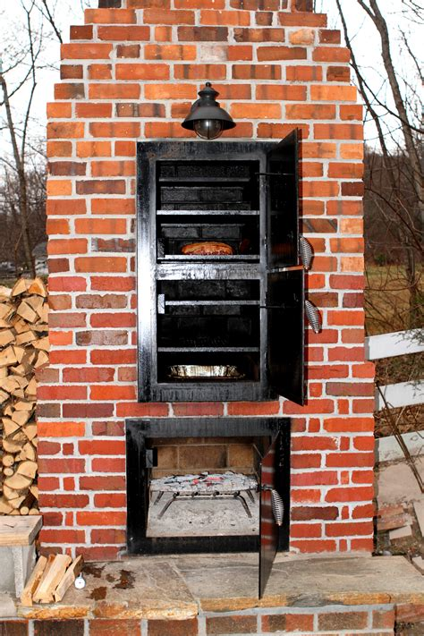 Backyard Brick Smokehouse Plans