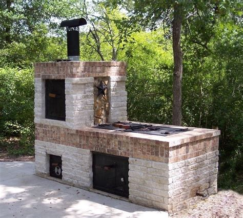 Backyard Brick Smoker Plans