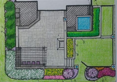 Backyard Deck Plans Drawings
