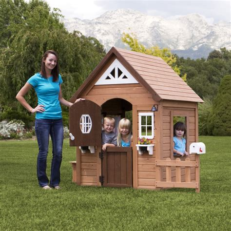 Backyard Discovery Playhouse Plans