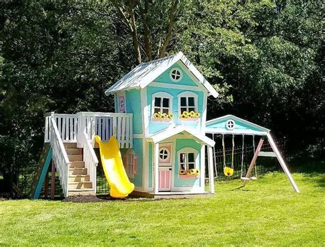 Backyard Dollhouse Plans From Sunset