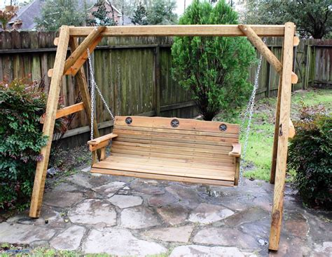 Backyard Swing Plans For Adults