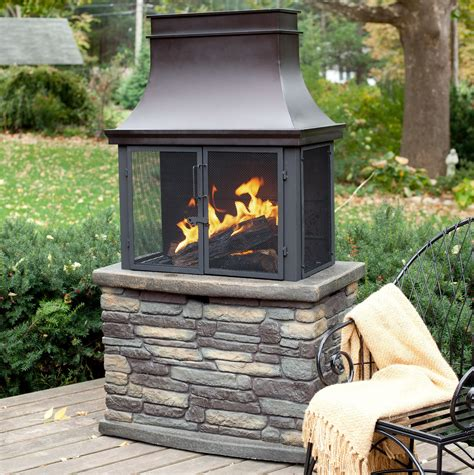Backyard Wood Burning Fireplaces
