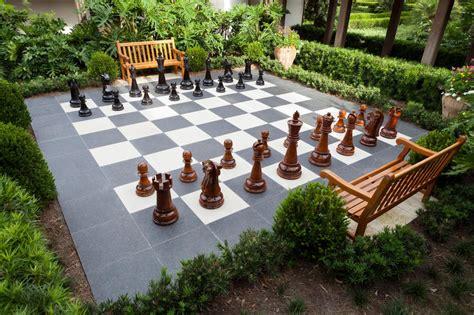 Backyard-Chess-Set