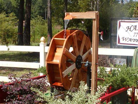 Backyard-Water-Wheel-Plans