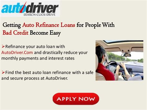 Bad Credit Auto Loan Refinancing