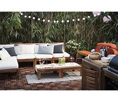 Best Balcony furniture at ikea