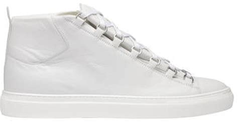 Balenciaga Arena High Sneakers Extra White
