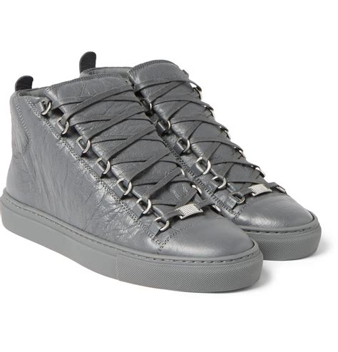 Balenciaga Arena High Sneakers Grey