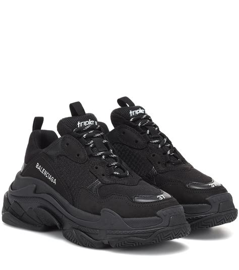 Balenciaga Black Sneakers Womens
