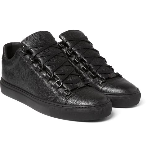 Balenciaga Grained-leather Sneakers