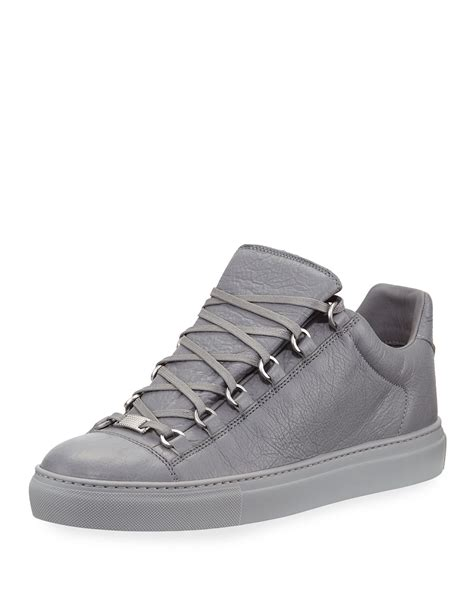 Balenciaga Low Top Leather Sneakers