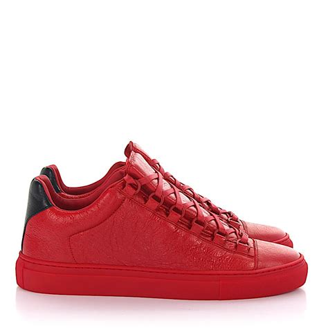 Balenciaga Sneakers Red Low