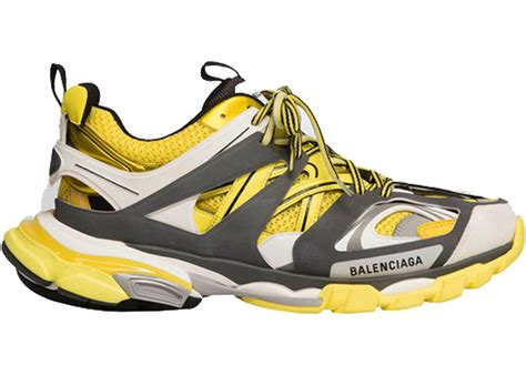 Balenciaga Sneakers Yellow Grey