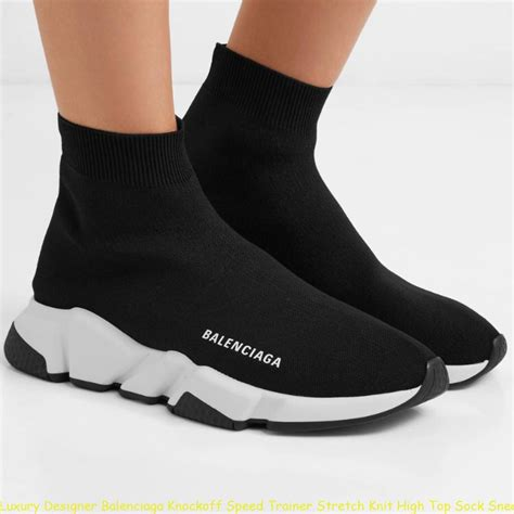 Balenciaga Speed Knit Sneakers Replica