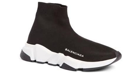 Balenciaga Speed Mid Sneaker Black