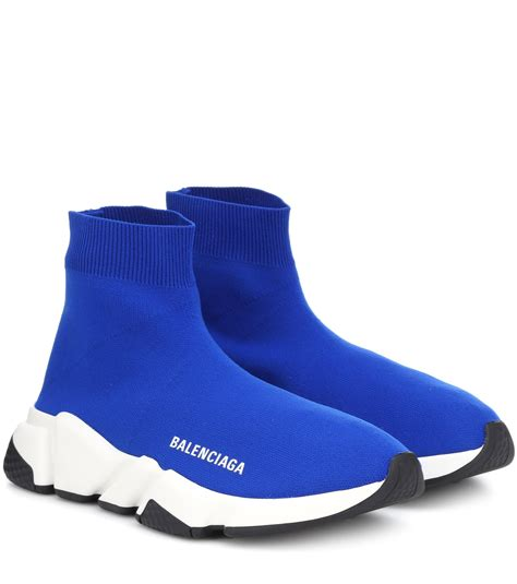 Balenciaga Womens Sneakers Blue
