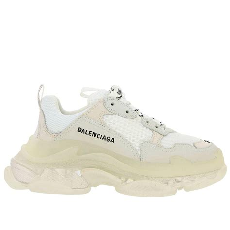 Balenciaga Womens Sneakers White