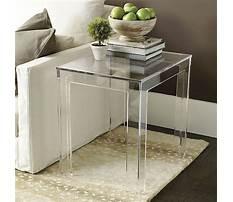 Best Ballard design acrylic coffee table