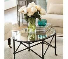 Best Ballard design coffee table