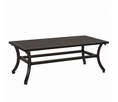 Best Ballard design outdoor coffee table