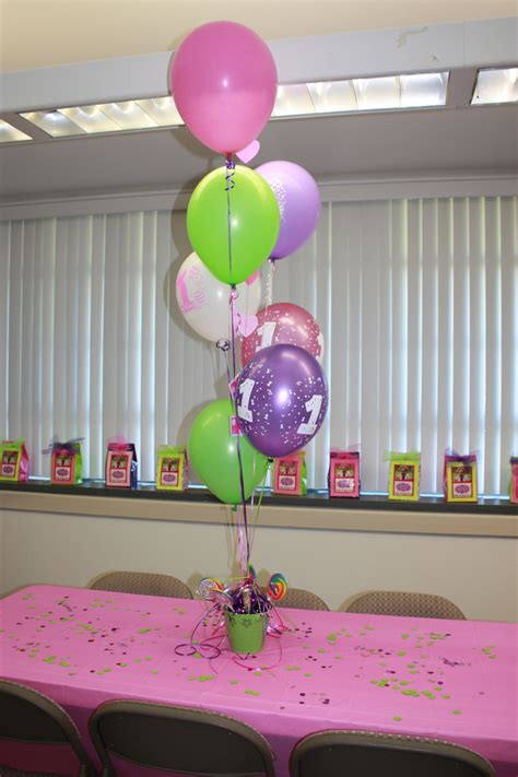 Balloon Table Centerpiece Diy