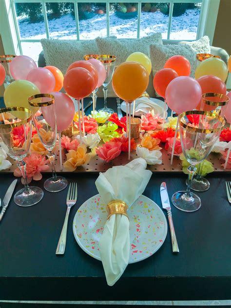 Balloon-Table-Centerpiece-Diy