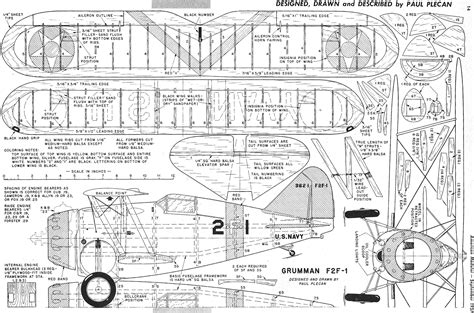 Balsa Airplane Plan Download