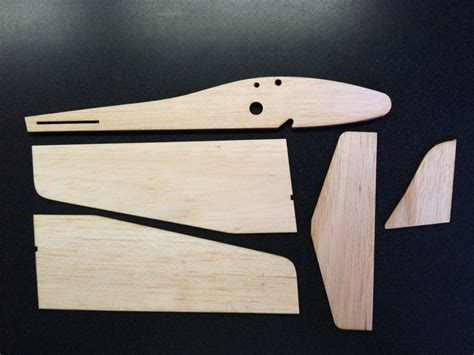 Balsa Wood Glider Diy Crafts