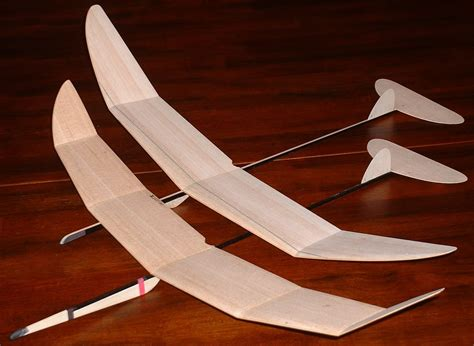 Balsa Wood Model Glider Plans