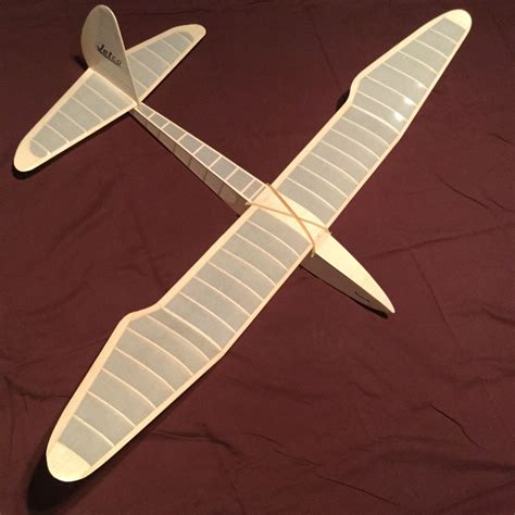 Balsa Wood Model Plane Plans/ Gliders