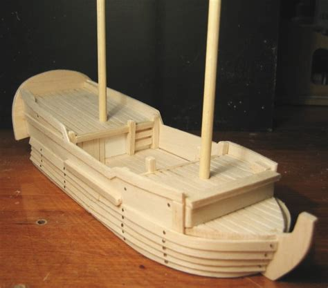 Balsa Wood Pirate Ship Plans