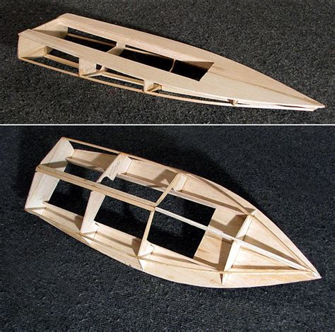 Balsa Wood Yacht Plans