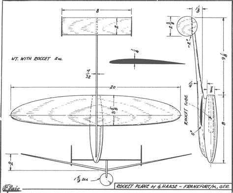 Balsa-Wood-Glider-Plane-Plans
