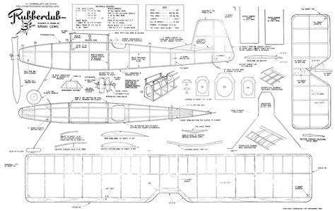 Balsa-Wood-Planes-Plans-Free