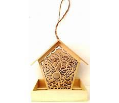 Best Balsa wood bird feeder