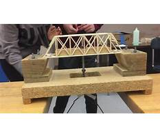 Best Balsa wood bridge projects