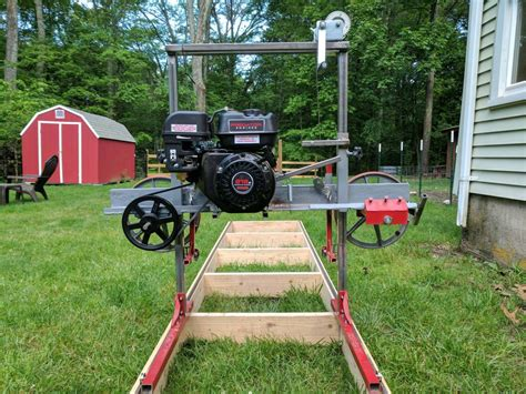 Band Saw Lumber Mill Plans Homemade