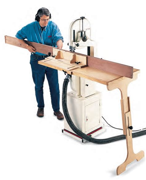 Band Saw Table Extension Plans