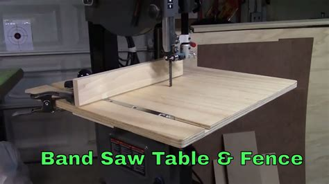 Band Saw Table With Fence For 14 Inch Bandsaw