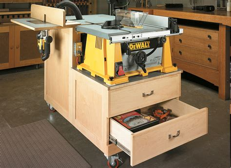 Bandsaw Table Plans Shop Notes