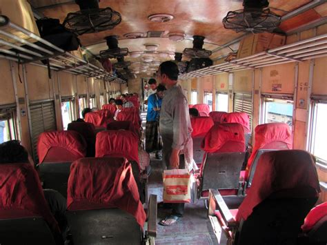 Bangladesh Railway Shovon Chair Seat Plan