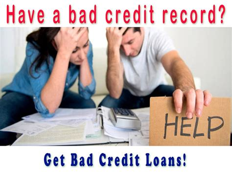 Bank Loans With Bad Credit