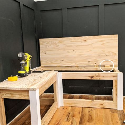 Banquette Bench With Storage Diy Camper