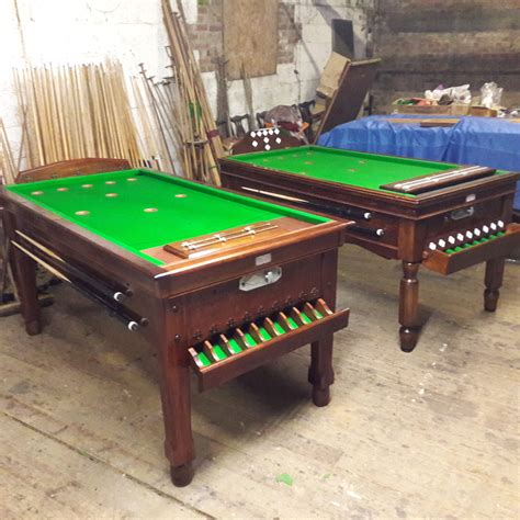 Bar Billiards Table Plans