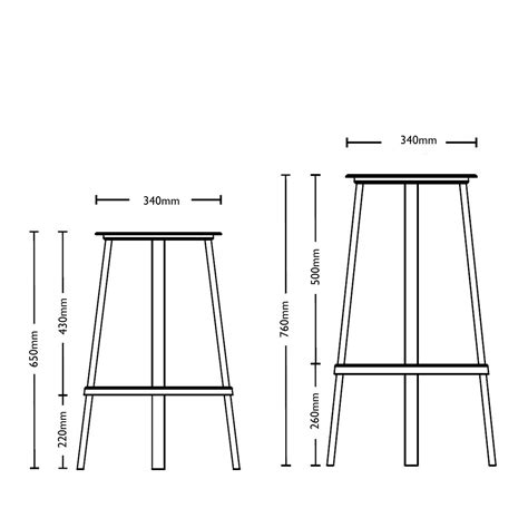 Bar Chair Depth