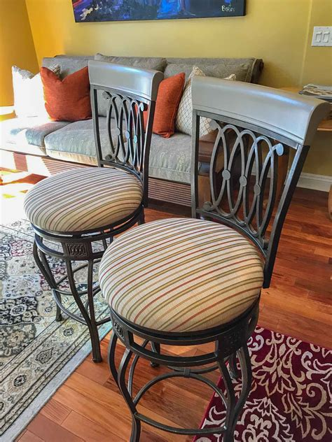 Bar Chair Diy Reuphostery