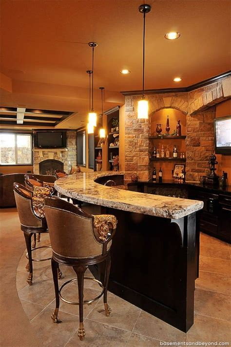 Bar Designs In Basements