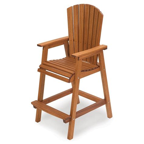 Bar Height Adirondack Chair Plans Video